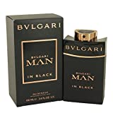 Bvlgari 4 Piece Man In Black Eau de Parfum Spray Gift Set for Men (Color: Black, Tamaño: 3.4 OZ (4 Piece))