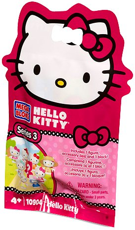 Hello Kitty Mega Blocks Series 3 Mystery Figure Accessory