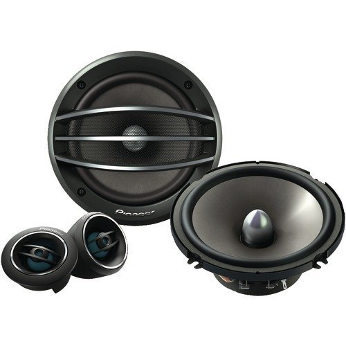New High Quality Pioneer Ts A1604C 6.5 Component Set Speakers (Car Stereo Speakers)