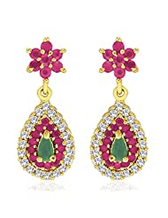 Peora Colorama Earrings With Gold Plating (PFE17GRG)