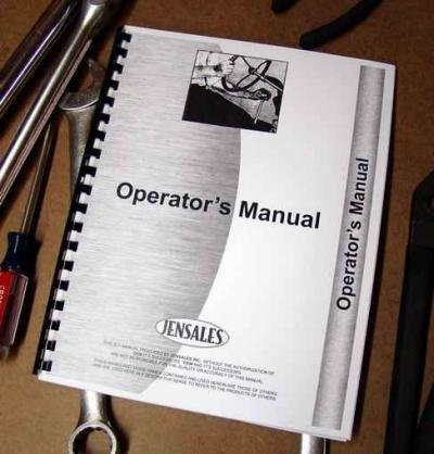 Minneapolis Moline G-1000 With Cab Supplement (S430B) Rc Operators Manual