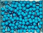 1/8 Inch Map Tacks - Light Blue