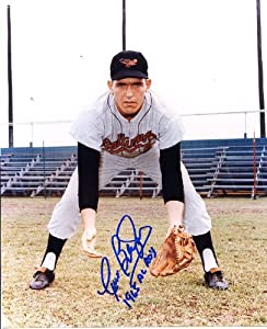 Curt Blefary (D. 2001) Autographed  Original Signed 8x10 Photo Showing Him with the... by Original Sports Autographs