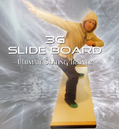 3G Ultimate Skating Trainer - Slide Board 7ft x 2ft Premium Thick (3g Slide Mat compare prices)