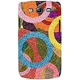 For Samsung Galaxy S3 I9300 :: Samsung I9305 Galaxy S III :: Samsung Galaxy S III LTE Circle Pattern ( Circle Pattern, Circle, Circular Pattern, Pattern ) Printed Designer Back Case Cover By FashionCops