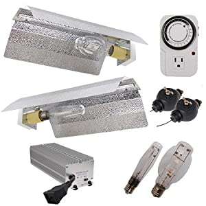 250 Watt Electronic Ballast HPS MH Grow Light kit