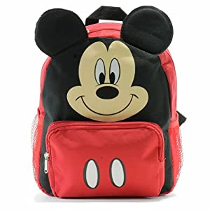"Disney Mickey Mouse Happy Face 12"" Backpack from Disney"