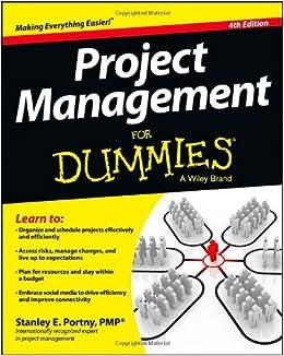 Project plans for dummies verlag