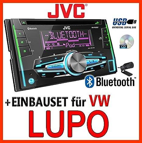 VW lupo-jVC-kW-r910BT 2-dIN avec uSB