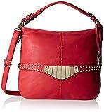 Gussaci Italy Women's Handbag (Red) (GC483)