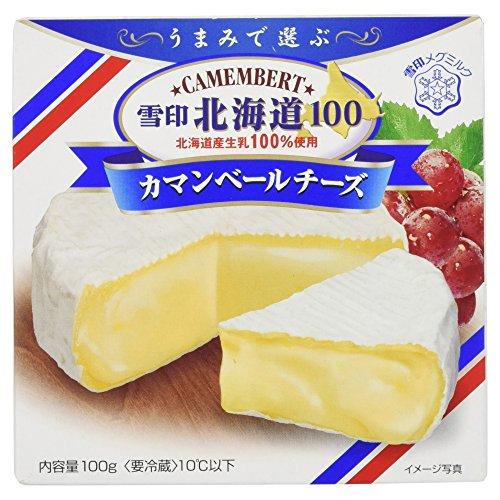 [冷蔵] 雪印メグミルク カマンベールチーズ100g