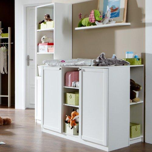 Babyzimmer Set 3-tlg »LOUFI« in alpinweiß