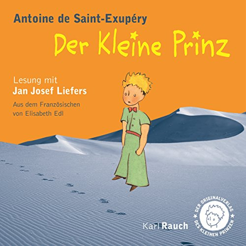 Buchseite und Rezensionen zu 'Der Kleine Prinz' von Antoine de Saint-Exupéry
