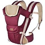 Finerolls Ajustable Mochila PortaBebes Infantil del Beb� Reci�n Nacido Portabebes Baby Carriers Backpack Comodo y Seguridad Doble Hombro Conversi�n para Ni�os Beb�