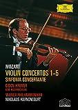 Mozart : Concertos pour violons 1-5 & Sinfonia Concertante - Edition 2 DVD