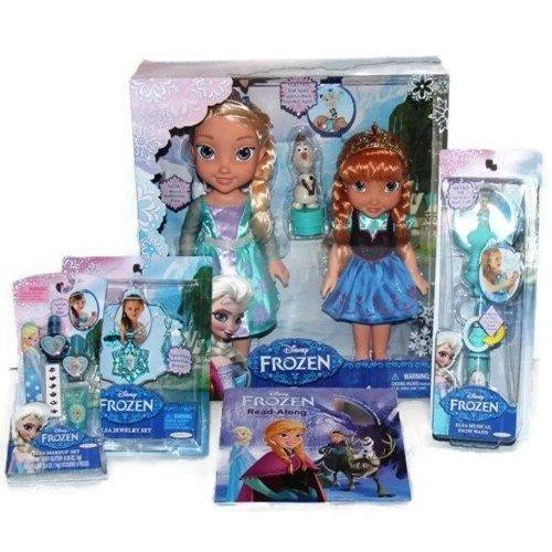 Disney Frozen Toddler Elsa & Anna Doll Set