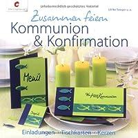 Kommunion und Konfirmation-Einladungen, ...