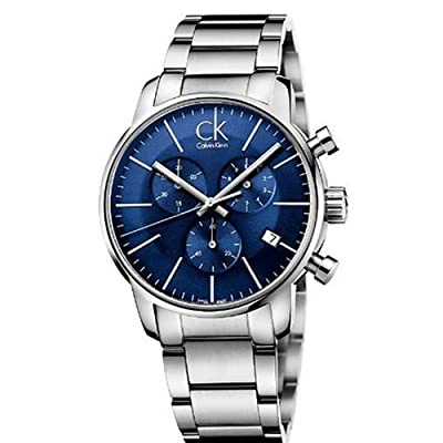 Men's Calvin Klein ck City Chronograph Dress Watch K2G2714N