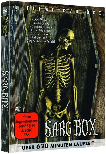 Sarg-Horror Holzbox-Edition (8 Filme) [2 DVDs]
