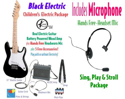 Kay Keam-B Children'S Electric Guitar Package