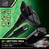 Gioteck Xbox 360 BP-1 Play And Charge Kit