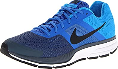Nike Men's Air Pegasus+ 30 Prize Blue/Dark Armour Blue/Blue Hero/White Sneaker 10 B - Narrow