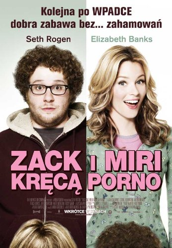 Zack and Miri Make A Porno (2008) 27 x 40 Movie Poster - Polish Style A