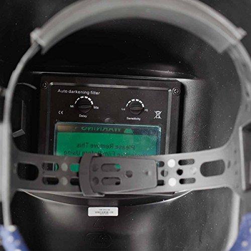 New-Pro-Solar-Welder-Mask-Auto-Darkening-Welding-Helmet-Arc-Tig-mig-grinding-YellowBlack