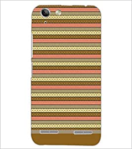 PrintDhaba Tribal pattern D-1805 Back Case Cover for LENOVO VIBE K5 (Multi-Coloured)