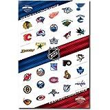 NHL Logos Poster Poster Print, 22x34