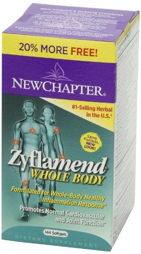 再特价:NEW CHAPTER 新章 Zyflamend Whole Body 草本精华抗炎胶囊 144粒美国亚马逊