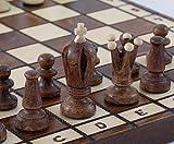 Holz Schachspiel Albatros