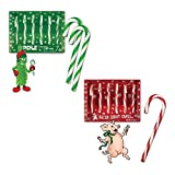 Candy Cane Bundle (1 box of Bacon Candy Canes & 1 box of Pickle Candy Canes