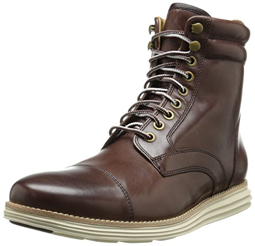 Cole Haan Men'S Lunargrand Lace Snow Boot, Chestnut, 10.5 M Us