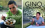 D'Acampo FANTASTICO & LA DOLCE DIET : 2 BOOKS COLLECTION by D'Acampo Gino