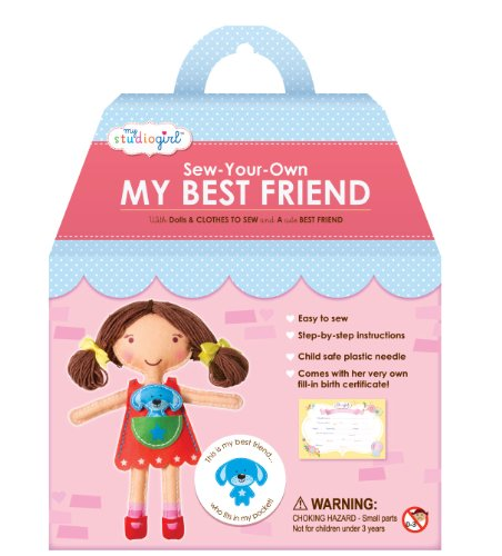 My Studio Girl Best Friend Dolls - Brunette