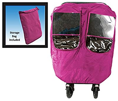 Comfy Baby! Universal Multi-Purpose Stroller weather Protector - Fits All Deluxe Umbrella, Full Size & Jogging Strollers