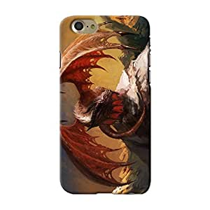 ArtzFolio Dragon : Apple iPhone 7 Matte Polycarbonate ORIGINAL BRANDED Mobile Cell Phone Protective BACK CASE COVER Protector : BEST DESIGNER Hard Shockproof Scratch-Proof Accessories : Fantasy