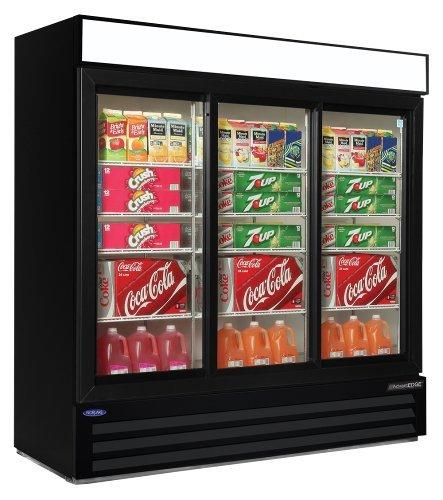 3 Door Commercial Refrigerator front-641494