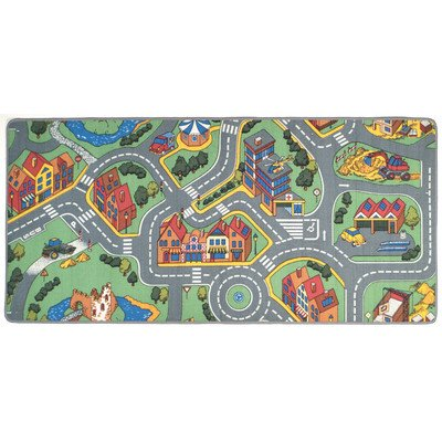 Play Carpet My Neighborhood Multi Kids Rug - 1