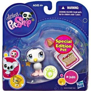 Littlest Pet Shop Seagull Special Edition Pet (#1456) Action Figure
