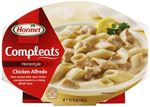 Hormel Microwavable Compleats Chicken Alfredo 10 Oz