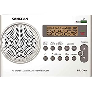 Sangean PR-D9W AM/FM Digital Radio with Weather Band