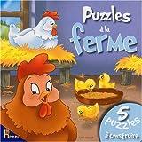 echange, troc Léa Thomattéo, Isabella Camino - Puzzles à la ferme : Les poules