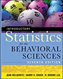 img - for Introductory Statistics for the Behavioral Sciences book / textbook / text book