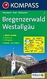 Bregenzerwald, Westallg�u: Wandern / Rad / Skitouren. Mit Panorama. GPS-geeignet. 1:50.000