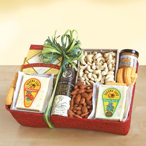California Gourmet Meat and Cheese Gift By California