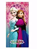 Disney Beach Towel Frozen Ana and Elsa pink Beach Towel 100% Cotton - Family Forever