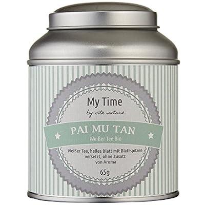MY TIME - Weißer Tee Bio Pai Mu Tan 65 g von Vita Natura Ltd. & Co. KG bei Gewürze Shop