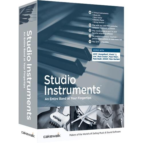 Cakewalk Studio Instruments ( Windows Macintosh )